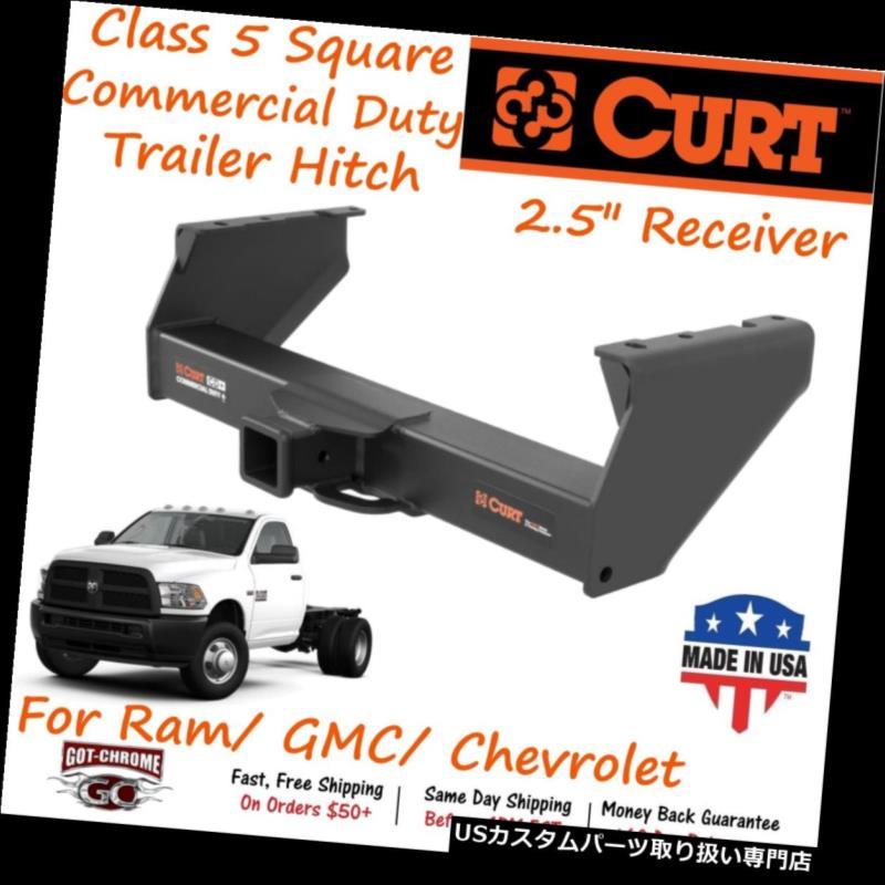 ヒッチメンバー 15800 3500/ Curt Class 5商業用義務トレーラーヒッチW// 4500 2.5インチレシーバー - 3500/4500 15800 Curt Class 5 Commercial Duty Trailer Hitch W/ 2.5