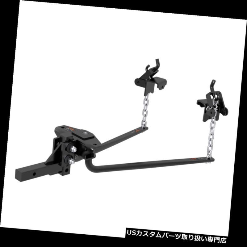 ヒッチメンバー 17000カート製造丸棒重量配分ヒッチスウェイコントロールキット 17000 Curt Manufacturing Round Bar Weight Distribution Hitch Sway Control Kit