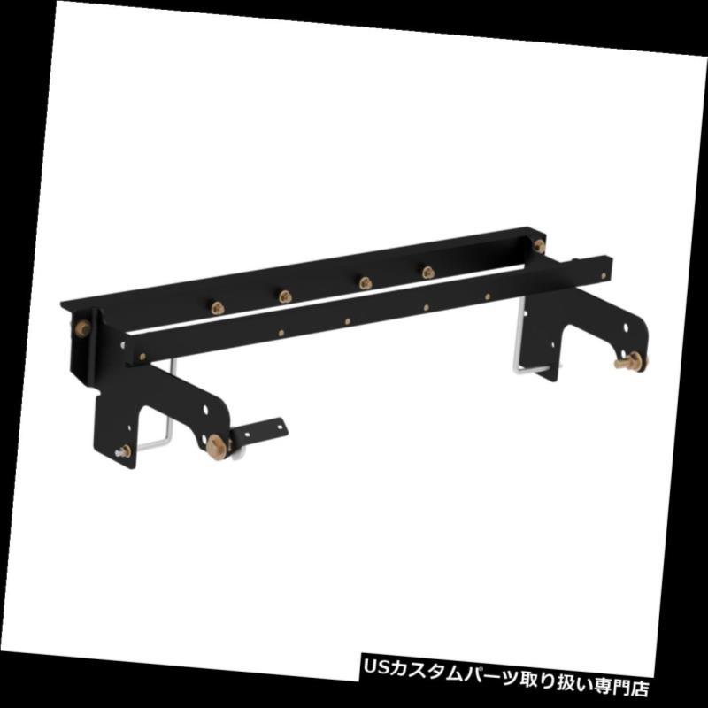 ヒッチメンバー 60648カートダブルロックEZrグースネックヒッチアンダーベッド取り付けブラケット 60648 Curt Double Lock EZr Gooseneck Hitch Under-Bed Installation Brackets