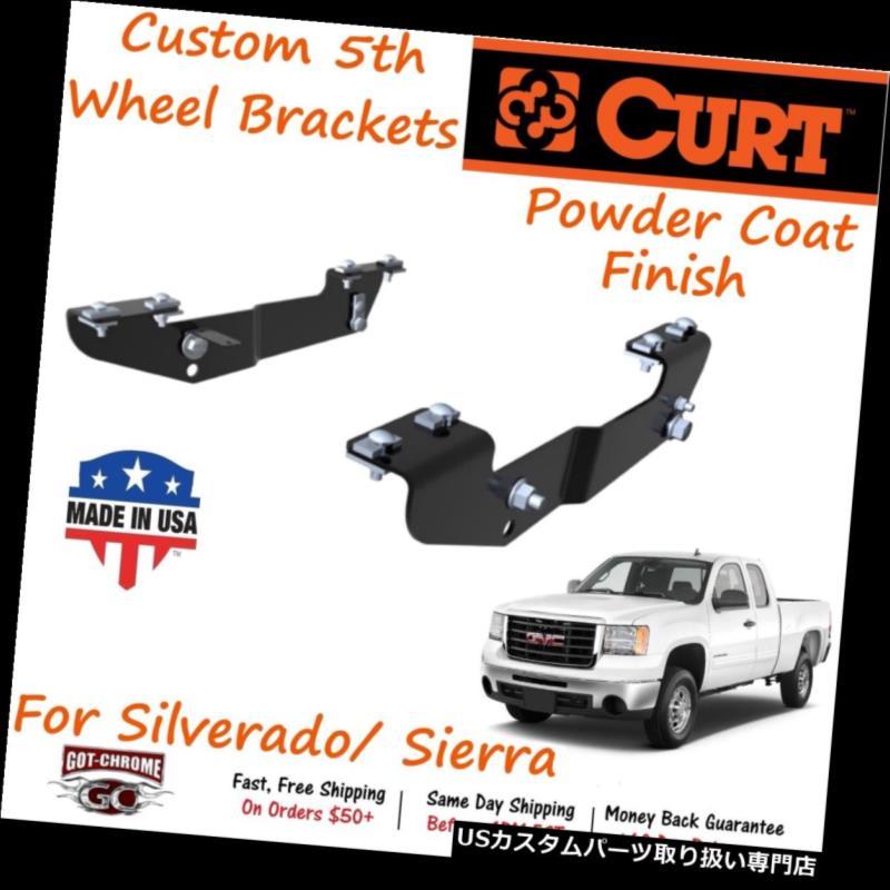 ヒッチメンバー 16418 Curtカスタム5th 5ホイールヒッチブラケットキットはSilverado / Sierraにフィット 16418 Curt Custom 5th Fifth Wheel Hitch Bracket Kit fits Silverado / Sierra