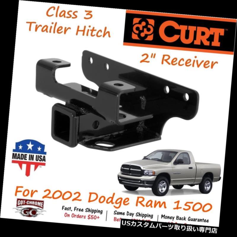 印象のデザイン ヒッチメンバー 13326 Curt Class 3トレイラーヒッチ、2インチレシーバーチューブ(ダッジラム1500用) 13326 Curt Class 3 Trailer Hitch with 2