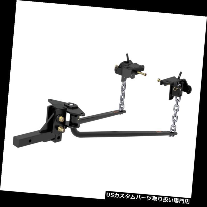 ヒッチメンバー 17051 Curt Manufacturing MV丸棒重量配分ヒッチW / 8000ポンドGTW 17051 Curt Manufacturing MV Round Bar Weight Distribution Hitch W/ 8000lb GTW