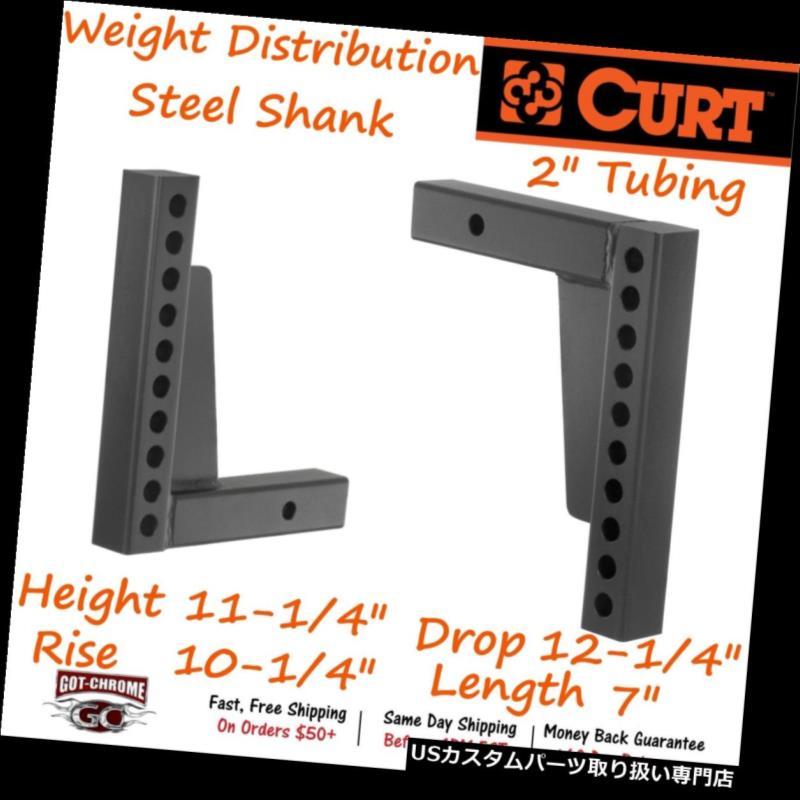 ヒッチメンバー 17123カート重量配分シャンク - WD Hitches用に調整可能なマウントを提供 17123 Curt Weight Distribution Shank- Provides adjustable mount for WD Hitches