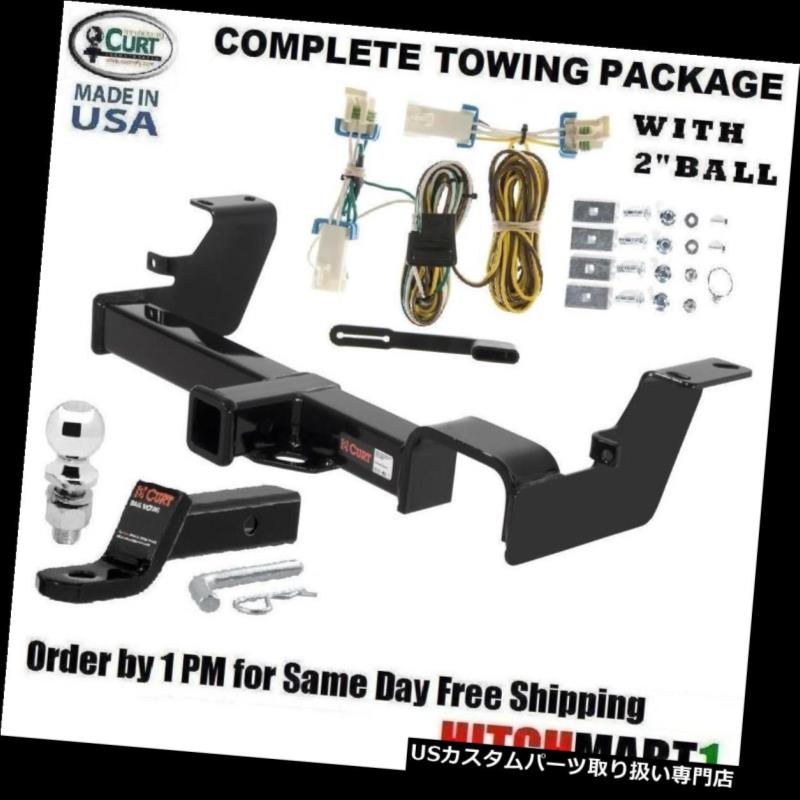 ヒッチメンバー FITS 2002-2007 BUICK RENDEZVOUSクラス3 CURT TRAILER HITCH PACKAGE w / 2