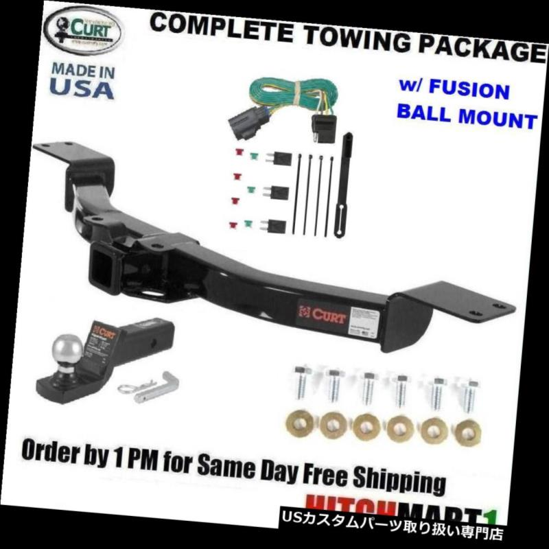 ヒッチメンバー FITS 2013-2017 CHEVY TRAVERSE CLASS 3カートトレーラーヒッチパッケージW /フュージョンマウント FITS 2013-2017 CHEVY TRAVERSE CLASS 3 CURT TRAILER HITCH PACKAGE W/ FUSION MOUNT
