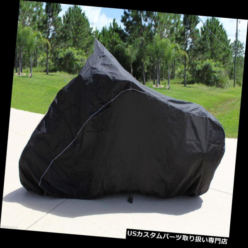 バイクカバー ヘビーデューティーオートバイカバースズキV-Strom 650 ABSアドベンチャー750 IEツアースタイル HEAVY-DUTY MOTORCYCLE COVER Suzuki V-Strom 650 ABS Adventure 750 IE Tour Style