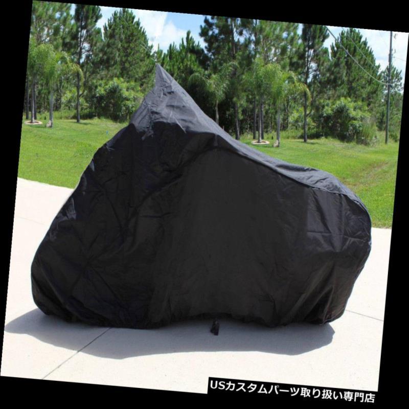 バイクカバー ヤマハロードスターミッドナイトスター2001年 - 2003年のためのスーパー重い義務のオートバイカバー SUPER HEAVY-DUTY MOTORCYCLE COVER FOR Yamaha Road Star Midnight Star 2001-2003