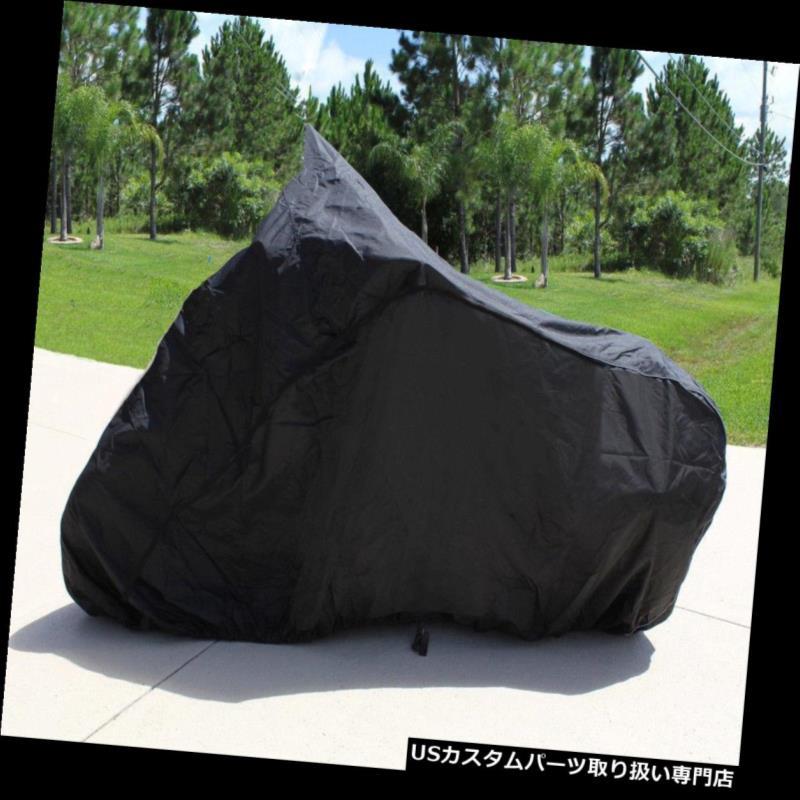 バイクカバー ホンダST1300 ABS用のスーパーヘビーデューティーバイクオートバイカバー2003-2010,2012 SUPER HEAVY-DUTY BIKE MOTORCYCLE COVER FOR Honda ST1300 ABS 2003-2010,2012