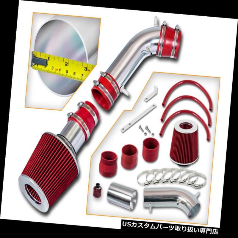 エアインテーク インナーダクト 96-98トヨタ4ランナー3.4L V6用RAMエアインテークキット+レッドフィルター RAM AIR INTAKE KIT +RED FILTER For 96-98 Toyota 4Runner 3.4L V6