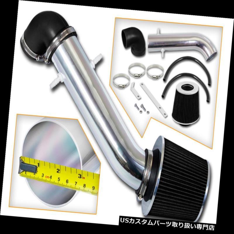 AIR INTAKE KIT+BLACK Filter For 97-06 Wrangler TJ 4.0L SE X Sport Rubicon Sahara