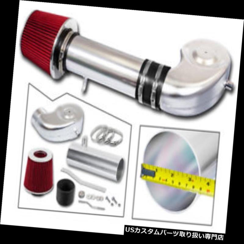 エアインテーク インナーダクト 88 - 95 GMC C / K / R / Vのための吸気キット+赤フィルター郊外1500 2500 4.3 5.0 5.7 AIR INTAKE Kit + RED Filter For 88-95 GMC C/K/R/V Suburban 1500 2500 4.3 5.0 5.7