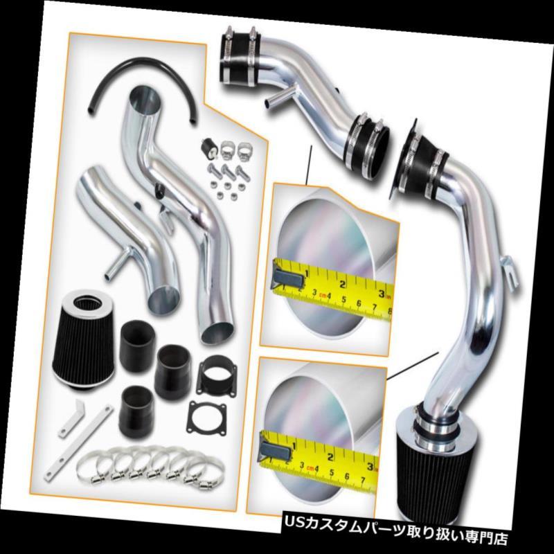 エアインテーク インナーダクト ブラックコールドエアインテークシステム+ FILTERフィット02-06日産セントラSER Spec V 2.5L L4 BLACK COLD AIR INTAKE SYSTEM+FILTER Fit 02-06 Nissan Sentra SER Spec V 2.5L L4