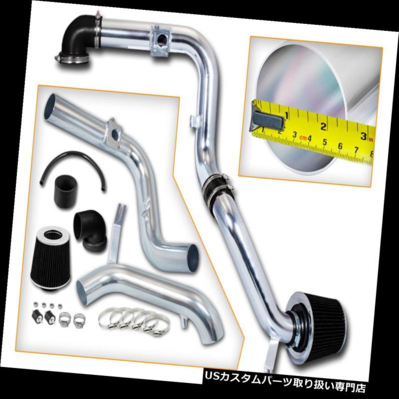 エアインテーク インナーダクト 黒の冷たい空気の摂取キット+フォード00-03のための乾燥フィルターFocus 2dr 3dr 4dr 2.0L L4 BLACK COLD AIR INTAKE KIT + DRY FILTER FOR FORD 00-03 Focus 2dr 3dr 4dr 2.0L L4