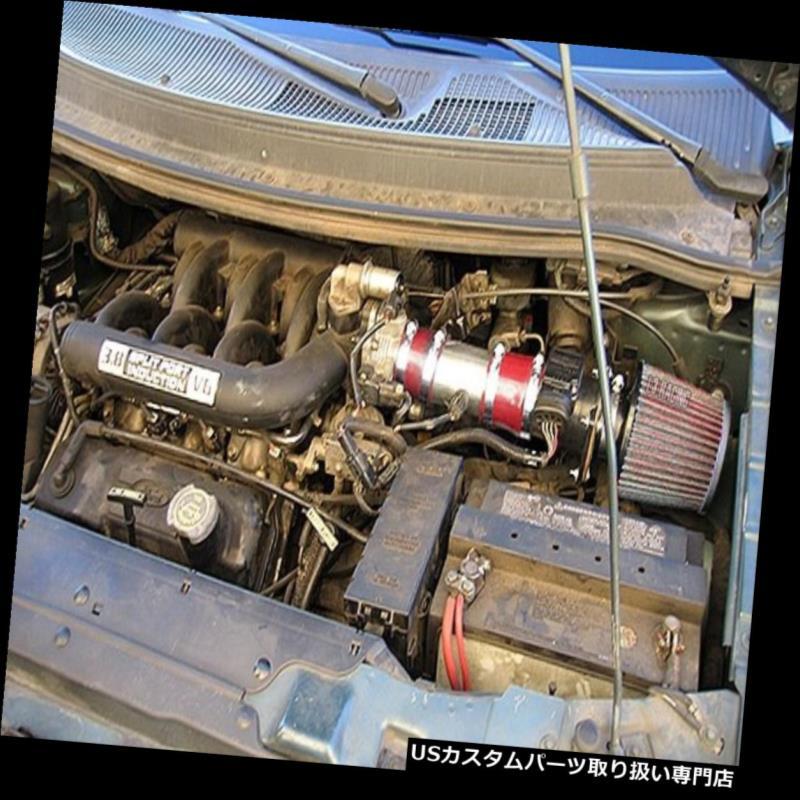 Blue DRY Filter For 96-98 Ford Windstar 3.8L OHV V6 Racing Air Intake System