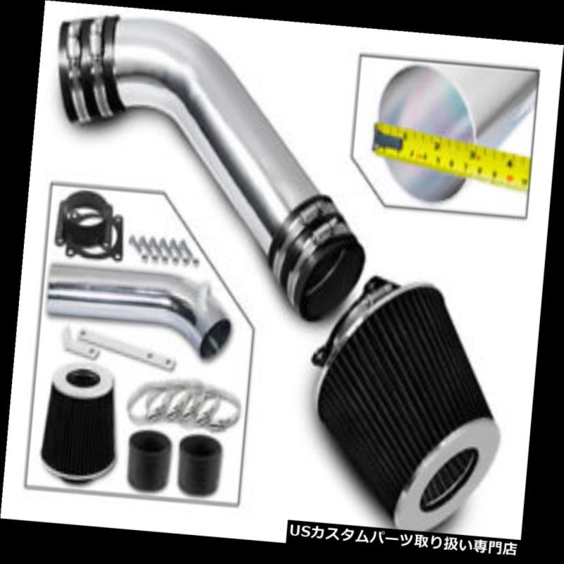 エアインテーク インナーダクト 03-06日産350Z 3.5L V6 Z33フェアレディクーペ用RAMエアインテークキット+ブラックフィルター RAM AIR INTAKE KIT+BLACK FILTER For 03-06 Nissan 350Z 3.5L V6 Z33 Fairlady Coupe