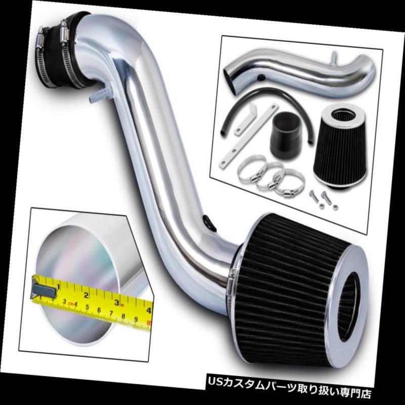 エアインテーク インナーダクト 92-96トヨタカムリ2.2L L4用RAMエアインテークキット+ブラックフィルター RAM AIR INTAKE KIT + BLACK FILTER For 92-96 Toyota Camry 2.2L L4