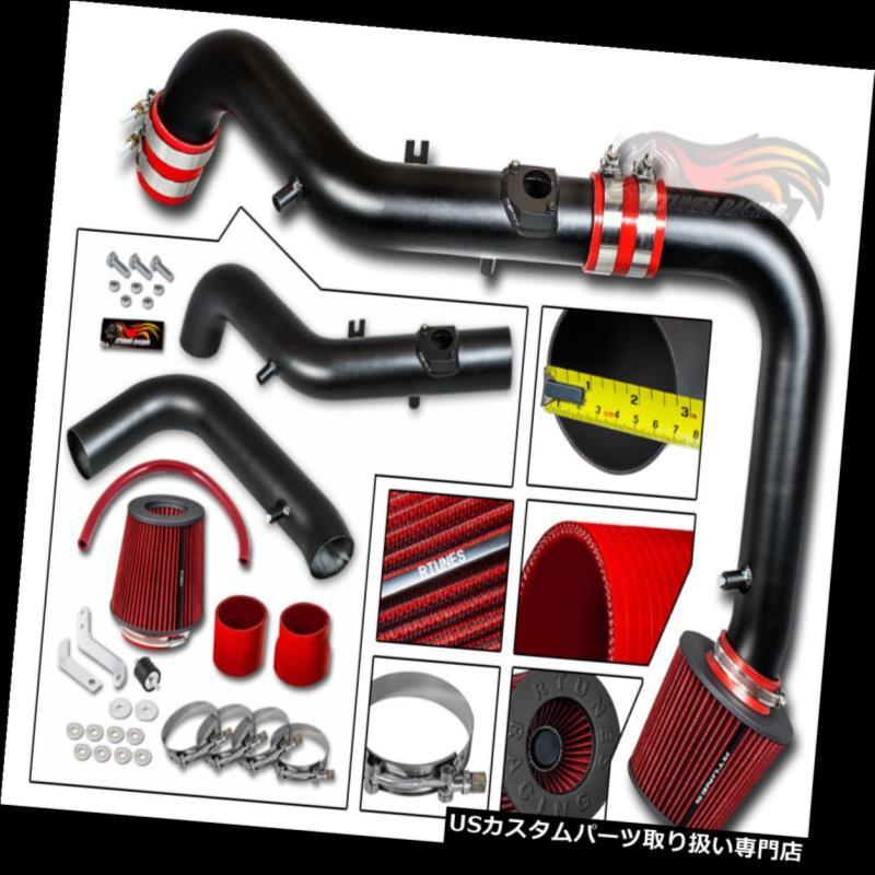 エアインテーク インナーダクト マットブラックコールドエアインテークキット+ドライフィルターサイオン05-06 tCクーペ2.4L L4 MATTE BLACK COLD AIR INTAKE KIT+DRY Filter Scion 05-06 tC Coupe 2.4L L4