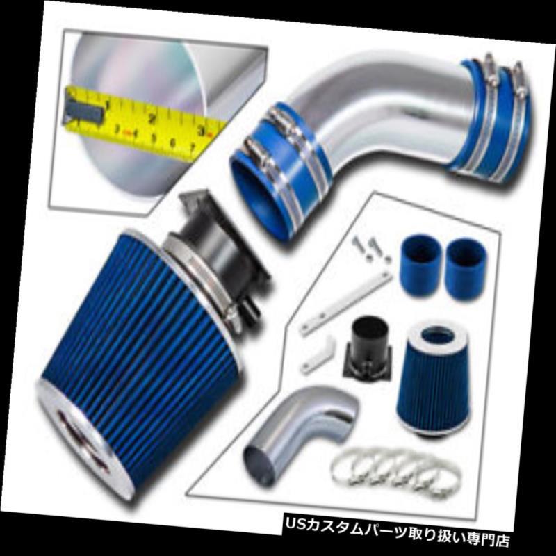 エアインテーク インナーダクト 96-00アウディA4 / A6 2.8L V6用RAMエアインテークキット+ブルーフィルター RAM AIR INTAKE KIT + BLUE FILTER FOR 96-00 Audi A4/A6 2.8L V6