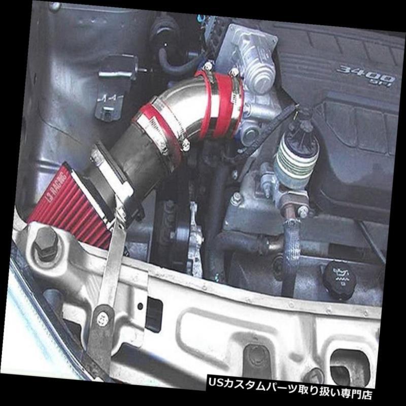 RED FILTER For 03-06 Infiniti G35 3.5L V6 Coupe//Sedan RAM AIR INTAKE KIT