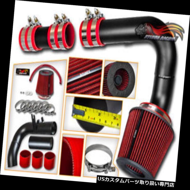 エアインテーク インナーダクト DODGE 00-05 NEON 2.0L用シリコンマットブラックコールドエアインテーク+ドライフィルター SILICONE MATTE BLACK COLD AIR INTAKE + DRY FILTER FOR DODGE 00-05 NEON 2.0L
