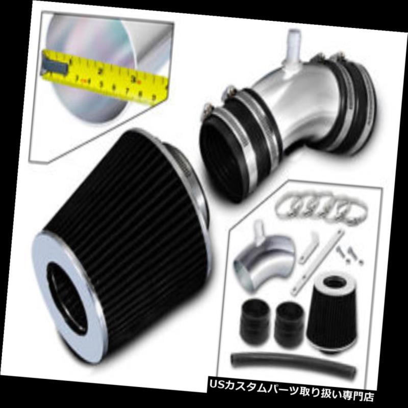 エアインテーク インナーダクト 06-08 Sonata 3.3L DOHC V6用レーシングエアインテークシステム+ BLACK DRYフィルター Racing Air Intake System + BLACK DRY Filter For 06-08 Sonata 3.3L DOHC V6