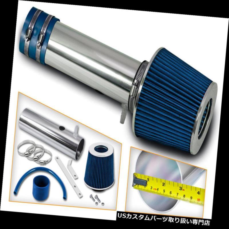 エアインテーク インナーダクト ショートラムエアインテークキット+ 05-06ホンダオデッセイ3.5L V6用ブルーフィルター Short Ram Air Intake Kit + BLUE Filter FOR 05-06 Honda Odyssey 3.5L V6