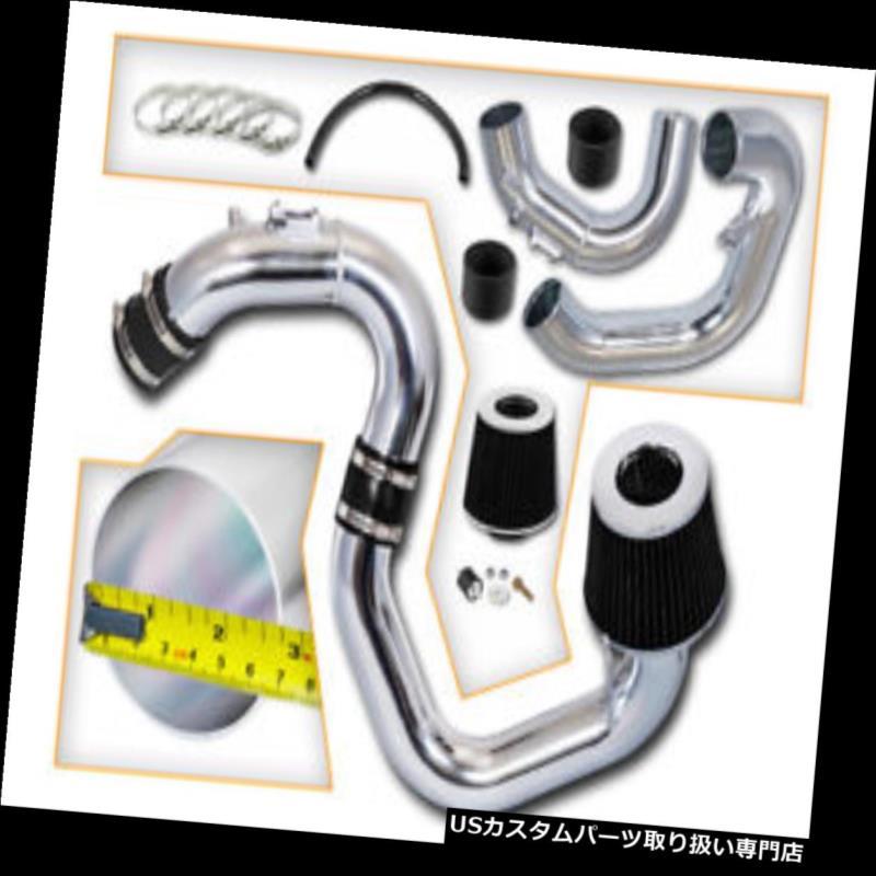 エアインテーク インナーダクト ブラックコールドエアーインダクションキット+マツダ04-09用フィルターMazda3 2.0L 2.3L L4 BLACK COLD AIR INDUCTION INTAKE KIT+FILTER FOR Mazda 04-09 Mazda3 2.0L 2.3L L4