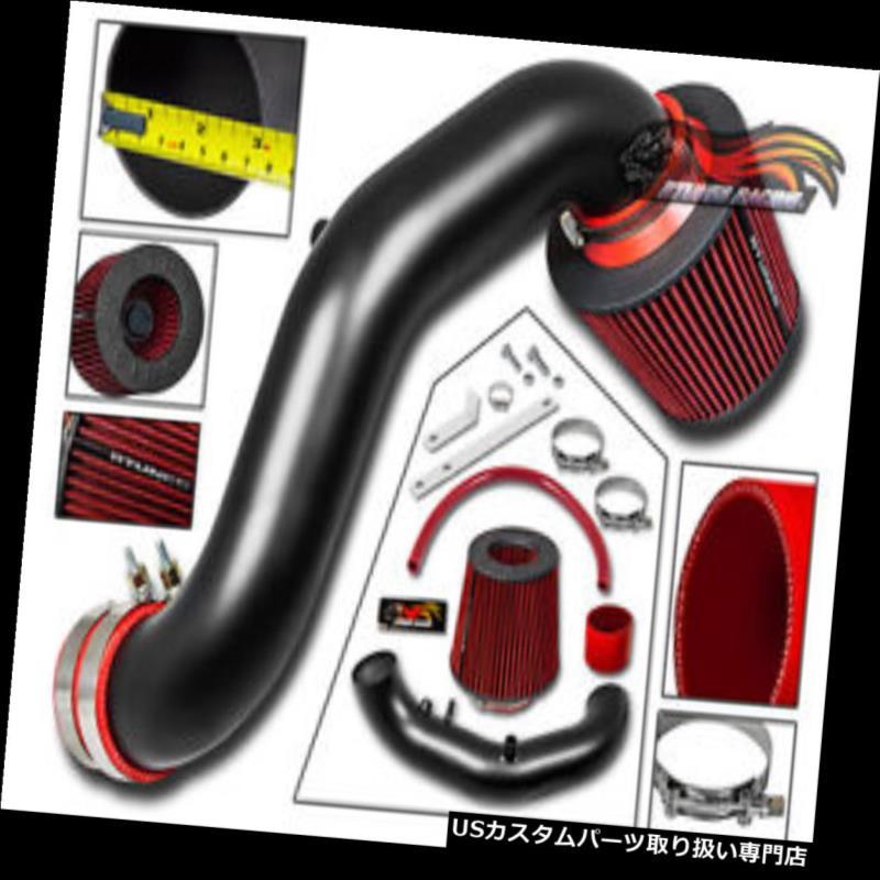 エアインテーク インナーダクト 02-06 AC RSXベースクーペ2.0L L4用マットブラックRAMエアインテーク+フィルターiVtec MATTE BLACK RAM AIR INTAKE + FILTER FOR 02-06 AC RSX Base Coupe 2.0L L4 iVtec