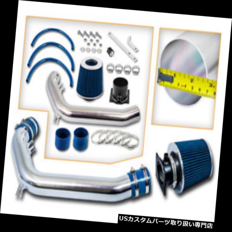 エアインテーク インナーダクト 91-94 240SX S13用の冷たい空気吸入キット+ドライフィルターSilvia 2.4 L4 COLD AIR INDUCTION INTAKE KIT+DRY FILTER FOR 91-94 240SX S13 Silvia 2.4 L4