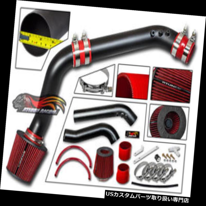 """3.5/"""" RED Heat Shield Cold Air Intake Filter For 09-16 370Z//08-13 G37 3.7L V6"""