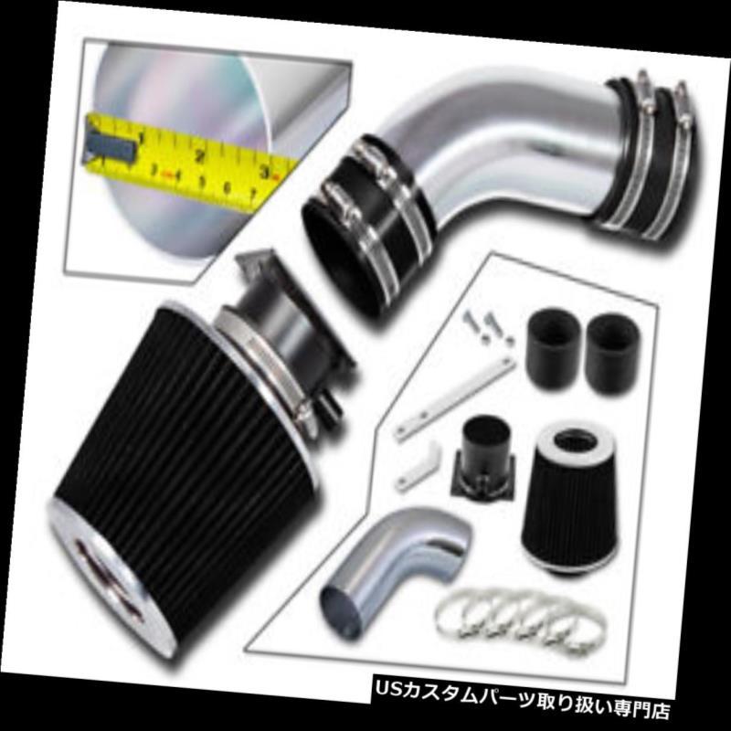 エアインテーク インナーダクト 96-00アウディA4 / A6 2.8L V6用RAMエアインテークキット+ブラックフィルター RAM AIR INTAKE KIT + BLACK FILTER FOR 96-00 Audi A4/A6 2.8L V6