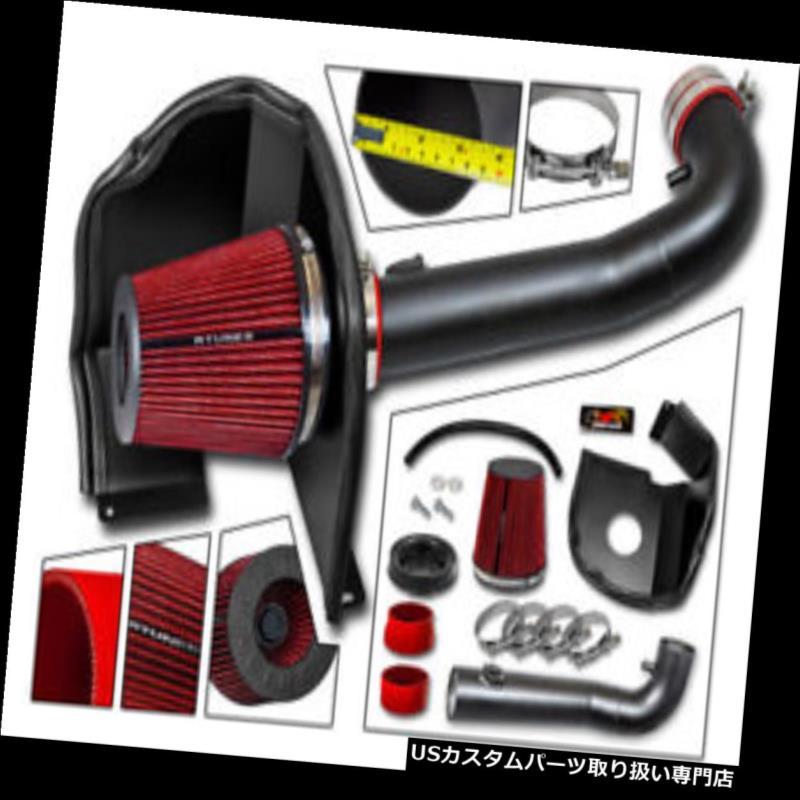 エアインテーク インナーダクト 14-17 GMC Sierra 1500 4.3L V6用マットブラックヒートシールドエアインテークキット MATT BLACK Heat Shield Air Intake Kit For 14-17 GMC Sierra 1500 4.3L V6