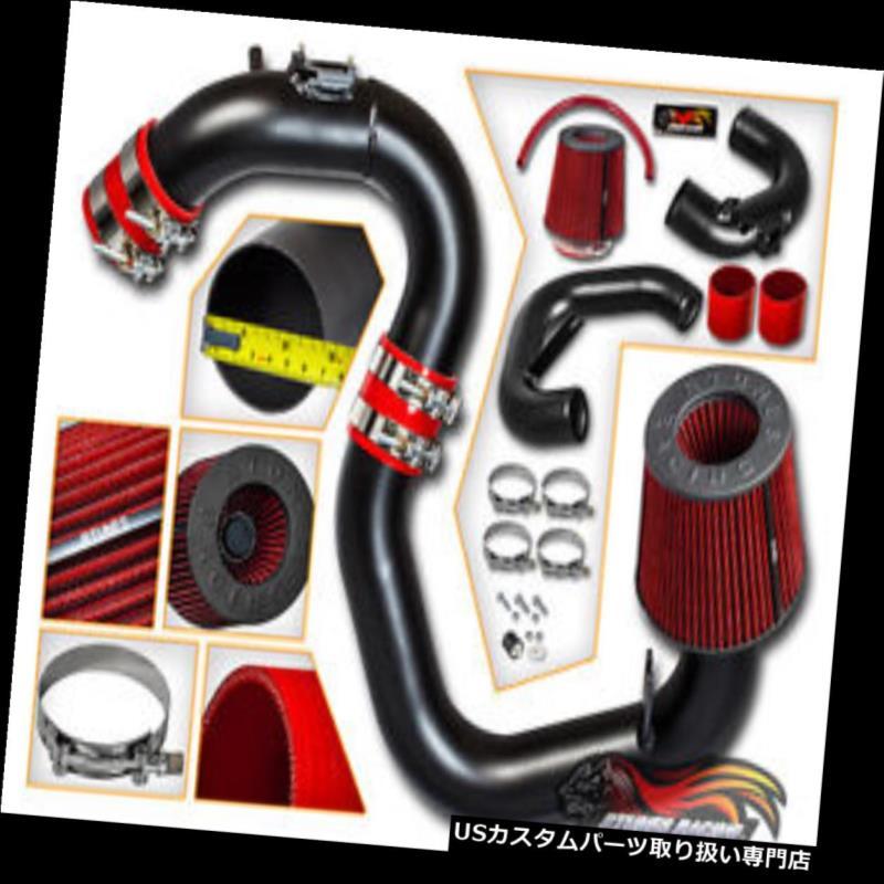 エアインテーク インナーダクト マツダ04-09 Mazda3 2.0L 2.3L L4用マットブラックコールドエアインテークキット+ドライフィルター MATTE BLACK COLD AIR INTAKE KIT+DRY FILTER FOR Mazda 04-09 Mazda3 2.0L 2.3L L4