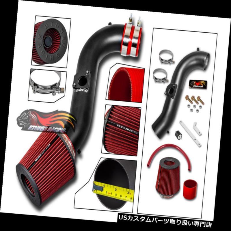 エアインテーク インナーダクト マットブラックエアインテークキット+レッドフィルター01-05用LEXUS IS300 Altezza 3.0 L6 MATTE BLACK AIR INTAKE KIT+ RED Filter For 01-05 LEXUS IS300 Altezza 3.0 L6