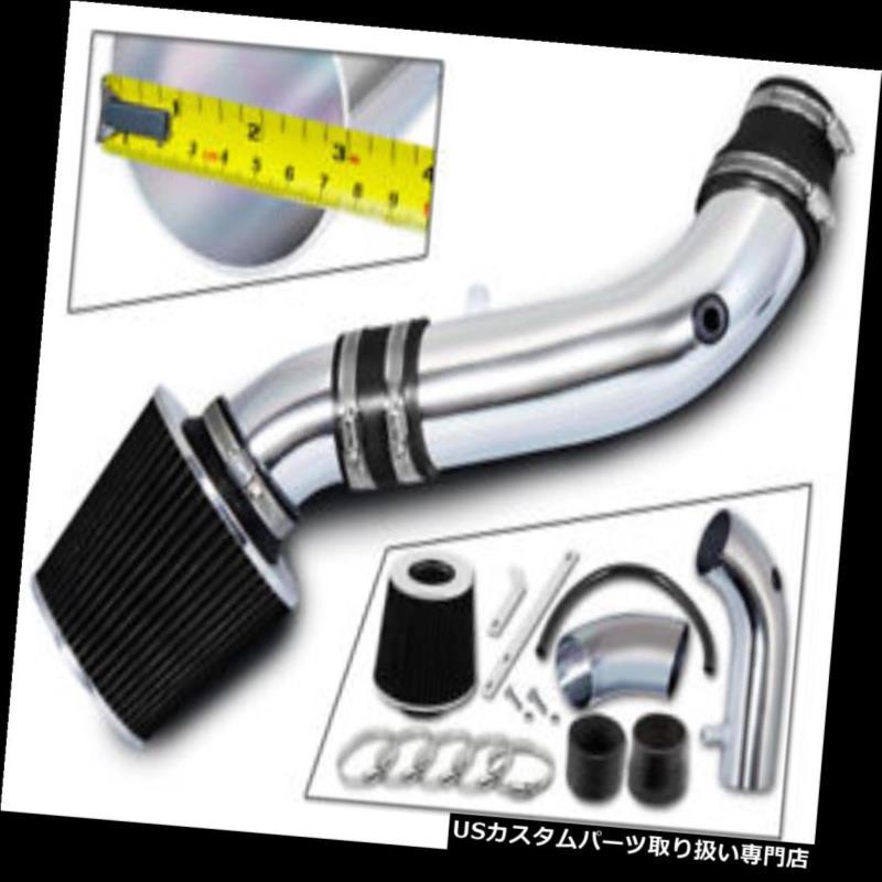 エアインテーク インナーダクト 07-11ジープラングラー3.8L V6用ショートRAMエアインテークキット+ブラックフィルター SHORT RAM AIR INTAKE KIT + BLACK FILTER For 07-11 JEEP Wrangler 3.8L V6
