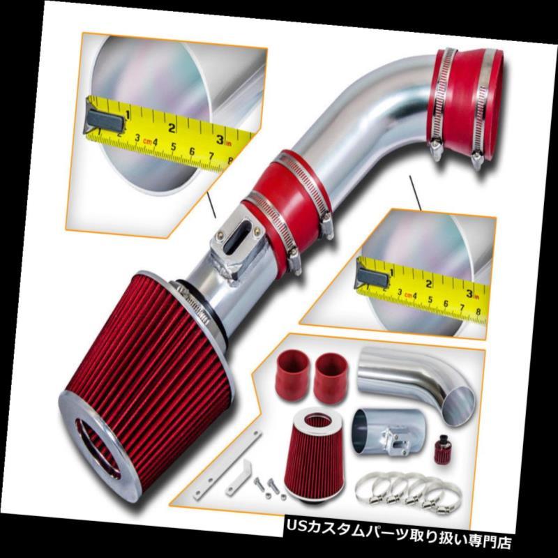 USエアインテーク インナーダクト ショートラムエアインテークキット+コロラド/キャニオン08-12用REDフィルター n 2.9L L4 3.7L L5 Short Ram Air Intake Kit + RED Filter For 08-12 Colorado/Canyon 2.9L L4 3.7L L5