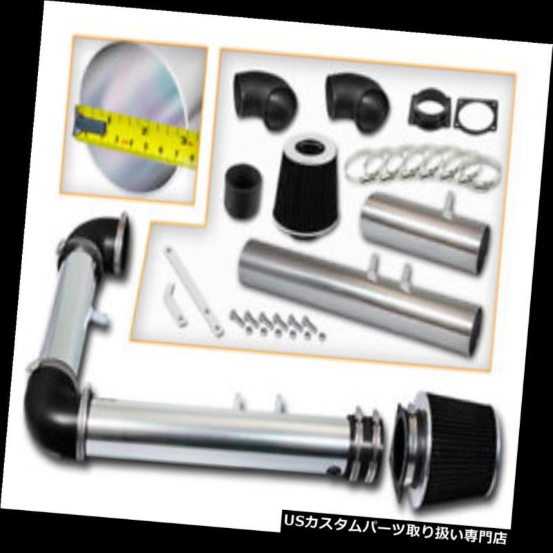 USエアインテーク インナーダクト ラムエアインテークキット+ 02 Thunderbird用ブラックフィルター/ 00-02リンカーンLS 3.9L V8 Ram Air Intake Kit + BLACK Filter for 02 Thunderbird / 00-02 Lincoln LS 3.9L V8