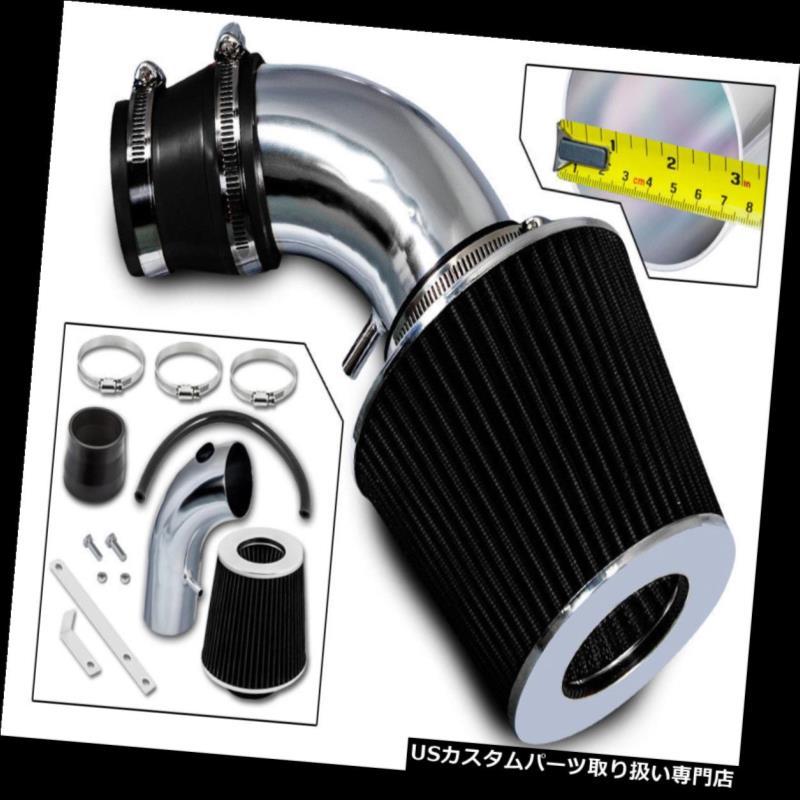 USエアインテーク インナーダクト ラムエアインテークキット+ 01-09クライスラーPTクルーザー2.4L非ターボ用ブラックフィルター Ram Air Intake Kit + BLACK Filter For 01-09 Chrysler PT Cruiser 2.4L Non-Turbo