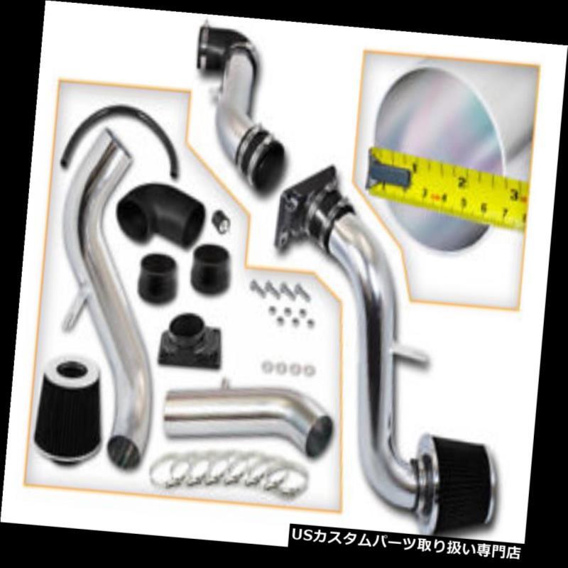 USエアインテーク インナーダクト ブラックコールドインダクションエアインテーク+ドライフィルター三菱99-03 Galant 2.4L 3.0L BLACK COLD INDUCTION AIR INTAKE+DRY FILTER FOR Mitsubishi 99-03 Galant 2.4L 3.0L