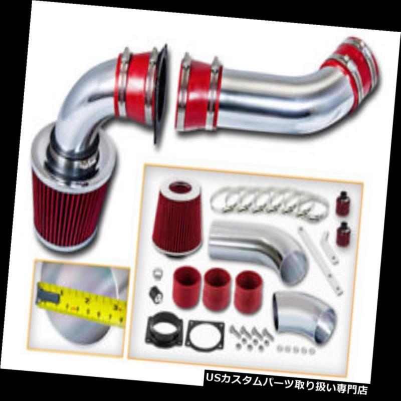 USエアインテーク インナーダクト FOR FOR 97-00 Explorer 4.0L SOHC V6用レッドコールドエアインテークキット+エアフィルター RED COLD AIR INTAKE KIT + AIR FILTER FOR FORD 97-00 Explorer 4.0L SOHC V6