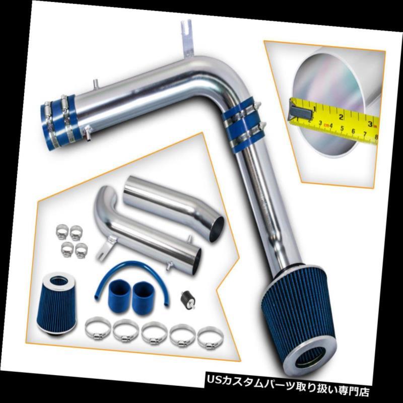 USエアインテーク インナーダクト アキュラ99-03 3.2L TL / 03 CL V6 VTECのための青く冷たい空気吸入キット+乾燥フィルター BLUE COLD AIR INTAKE KIT+DRY FILTER FOR ACURA 99-03 3.2L TL/03 CL V6 VTEC