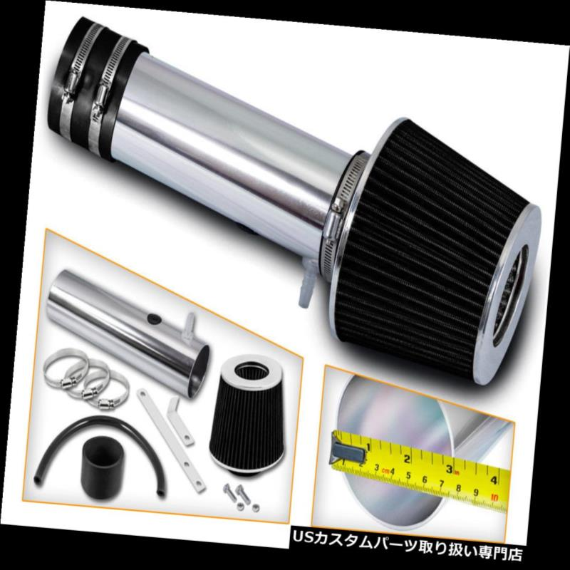 USエアインテーク インナーダクト 06-08ホンダパイロット3.5 L V 6用レーシングエアインテークシステム+ドライコーンフィルター Racing Air Intake System + DRY Cone Filter For 06-08 Honda Pilot 3.5L V6