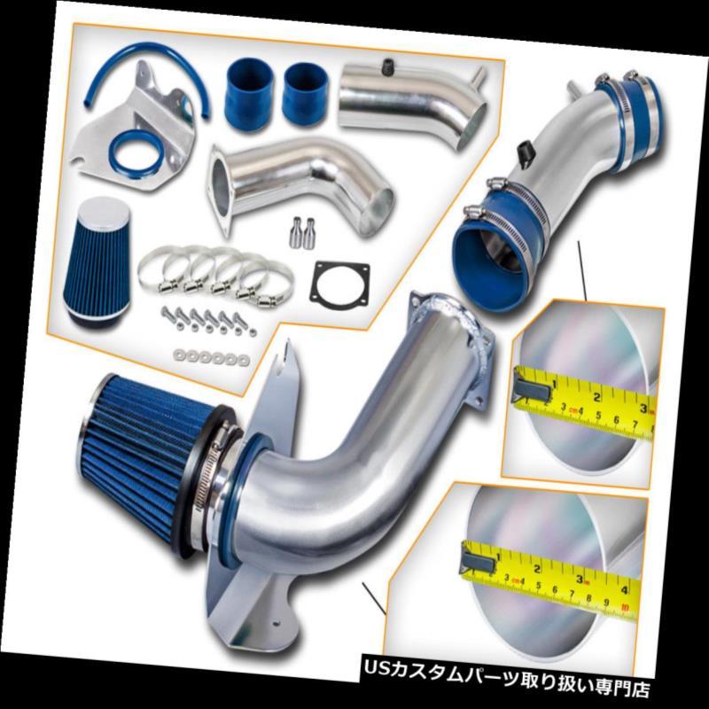 USエアインテーク インナーダクト 青の冷たい空気の取り込み+フォード99-04マスタングベース3.8L V6のための乾燥フィルター BLUE COLD AIR INTAKE + DRY FILTER FOR FORD 99-04 Mustang Base 3.8L V6