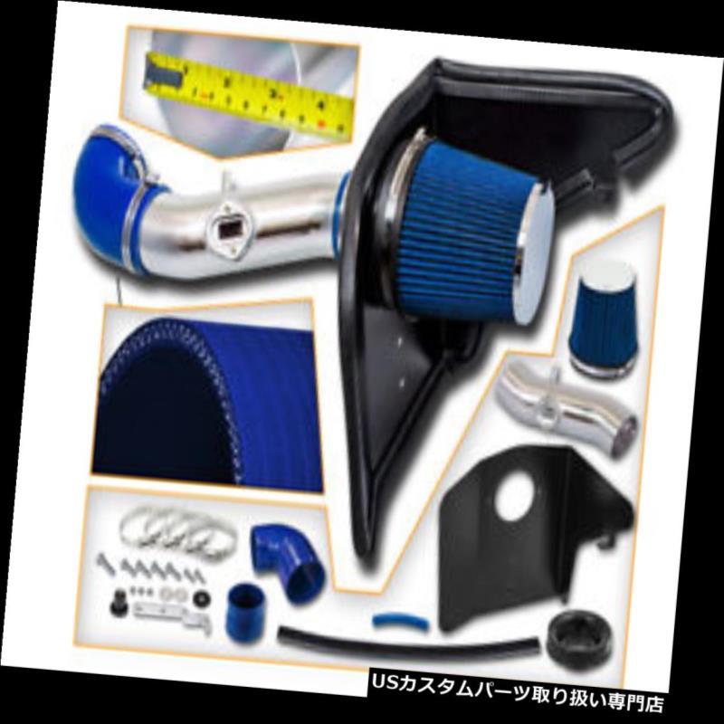 USエアインテーク インナーダクト 10-11カマロ3.6L V6 LS LTのための青い空気吸入の誘導キット+熱シールド BLUE Air Intake Induction Kit + Heat Shield For 10-11 Camaro 3.6L V6 LS LT