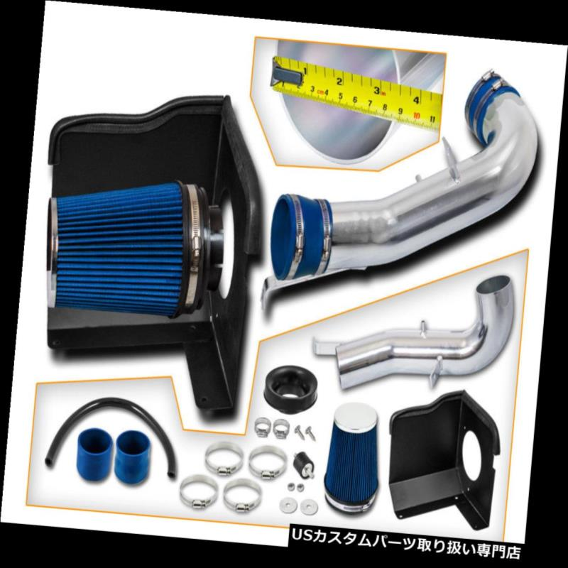 USエアインテーク インナーダクト 09-11シルバラード郊外の4.8L 5.3L 6.0L 6.2Lのための青い熱シールド空気取り入れキット Blue Heat Shield Air Intake Kit For 09-11 Silverado Suburban 4.8L 5.3L 6.0L 6.2L