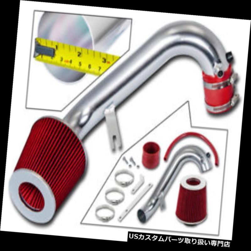 USエアインテーク インナーダクト 01-05シビックVP / DX / LX / EX 1.7L L4のためのRAM AIR INDUCTIONの摂取量+ RED DRY FILTER RAM AIR INDUCTION INTAKE +RED DRY FILTER FOR 01-05 CIVIC VP/DX/LX/EX 1.7L L4