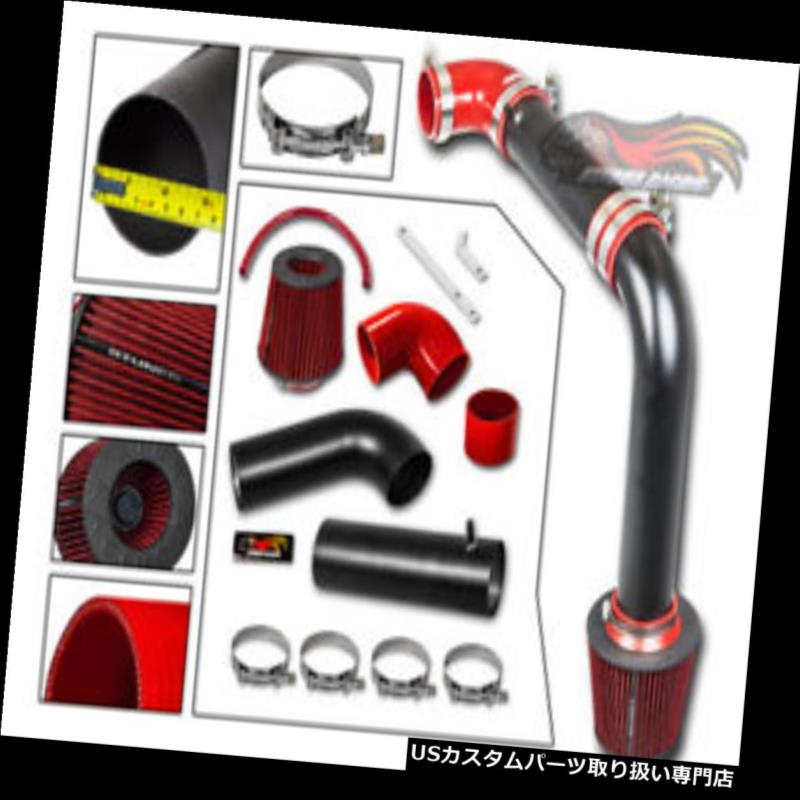 USエアインテーク インナーダクト マットブラックコールドエアインテークキット+フィルター用クライスラー95-00用2.0L 2.5L MATT BLACK Cold Air Intake Kit + Filter For CHRYSLER 95-00 SEBRING 2.0L 2.5L