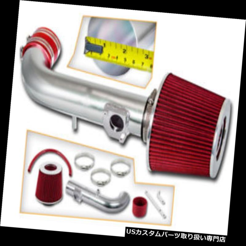 Filter BCP RED 00-05 Eclipse 2.4 L4 3.0 V6 Ram Air Intake Racing System