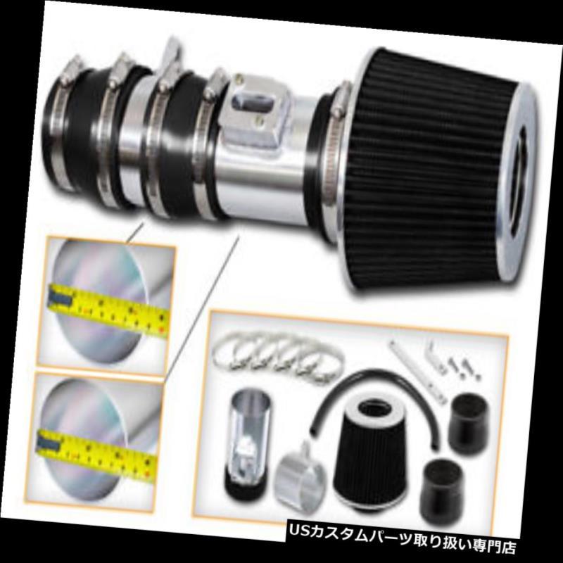 USエアインテーク インナーダクト Acura 07-14 TL 3.5L用スポーツエアインテークキット+ブラックドライフィルター 2010 TL 3.7L V6 Sport Air Intake Kit+ BLACK Dry Filter for Acura 07-14 TL 3.5L & 2010 TL 3.7L V6