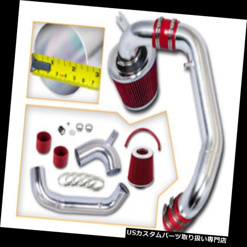 USエアインテーク インナーダクト レッドコールドインダクションエアインテークキット+フィルターフィット95-99 PLYMOUTH NEON SOHC 2.0L RED COLD INDUCTION AIR INTAKE KIT+ FILTER FITS 95-99 PLYMOUTH NEON SOHC 2.0L